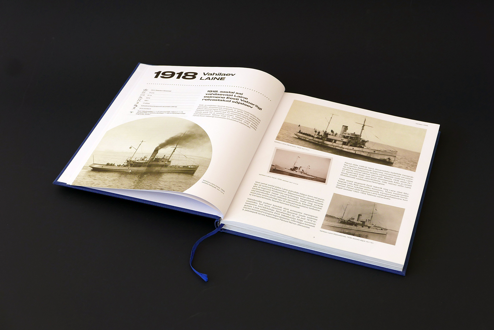 "POLAAR ""100 Years on Water. The Ships of Estonia"" book"
